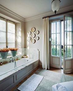 A Magical Home in Marbella {Master Bath} love this home!