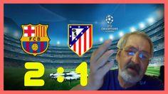 ✪ Барселона 2 : 1 Атлетико Мадрид ✪ Полный Обзор Матча от Деда Гуллита ✪...