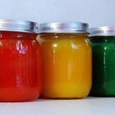 Nontoxic Finger Paint in Mason Jars for Kids | Safe to Eat
