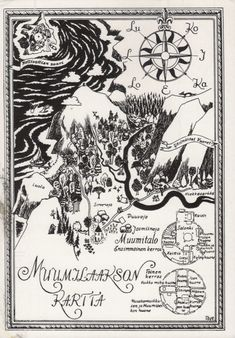 Moomin map! Thank you Finland.