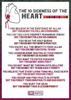 Ya Allah save our hearts