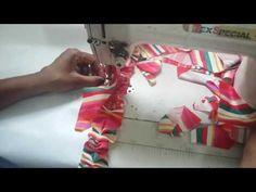 Como fazer tapete de retalho. Diga não a crise!parte 1 - YouTube