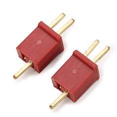 Mini T Plug Connector For MCPX H377 WLtoys V977 Mini SUPER CP