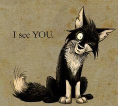 I see YOU. by =Skia on deviantART