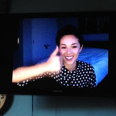 July 13th, 2015. Kina Grannis on StageIt in a bedroom not her own. For the first time many of my friends came to this show. All but the most handsome received shoutouts from Kina, though some cruelly suggested there were beings in the closet behind her. It was a happy day.