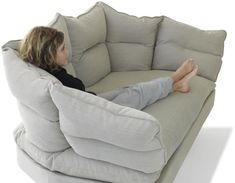 Big oversized chair! This looks incredibly comfortable, and I plan ...