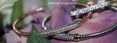 Nueva colección de pulseras de plata y circonitas . Varios modelos