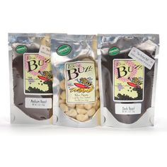 The Local Buzz Sampler Coffee & Nut Gift Set Hawaiian Coffee, The Locals, Oatmeal, Eat, Breakfast, Gifts, Food, The Oatmeal, Morning Coffee