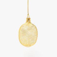 Image du produit Boule suspendue filet doré