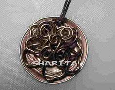 Nespresso pendant with aluminium flower