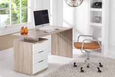 Home Office Desking New Furniture, Office Furniture, Bedroom Furniture, Furniture Design, Home Office, Office Desk, Corner Desk, Photography, Home Decor