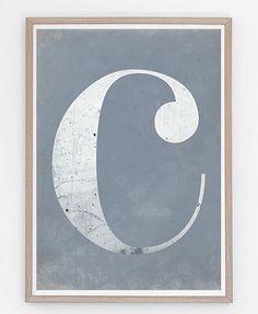 Symbols, Letters, Illustrations, Celestial, Fine Art, Prints, Illustration, Letter, Lettering
