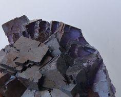 Fluorita violeta - 20 x 13 cm - 2,210 kg