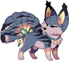 Foxfan Custom for Hyruchewey by Belliko-art