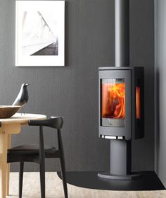 Wood Heat sells the Jøtul plus wood burning stoves from other top manufacturers. Corner Gas Fireplace, Stove Fireplace, Fireplace Inserts, Gas Fireplaces, Wood Pellet Stoves, Wood Pellets, Wood Burning, Future House, Firewood