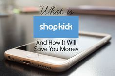 "Shopkick is an app where you earn points or ""kicks"" when you walk into a store, scan barcodes on specific products or purchase products. You don't need to purchase anything at a store to collect points. Just another way to save and earn money."