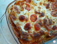 Dit is een heerlijk recept voor een slanke lasagne met kipfilet en mozzarella. Zonder pakjes en zakjes, maar met verse ingrediënten!
