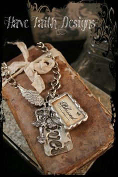 Be Blessed necklace by HaveFaithDesigns on Etsy