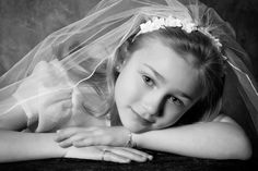 First communion pictures are a classic photo I love to take.  I took this one in the studio, but I also do them at my Church in Brighton, MI