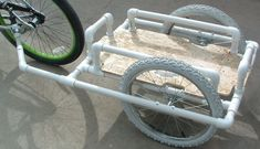 Dennis's PVC Bike Trailer Concept Realized | BikeShopHub Blog