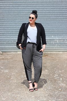 Plus-size sporty chic outfit http://anaispenelope.blogspot.fr/2015/05/yours.html