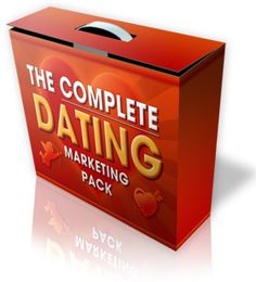 """Now you can give yourself an unfair advantage and start right away with everything you need to dominate the Dating niche.""  ""The Complete Dating Marketing Pack"" gets you off to a running start in the dating niche, with all the tools you need for any marketing strategy you choose."