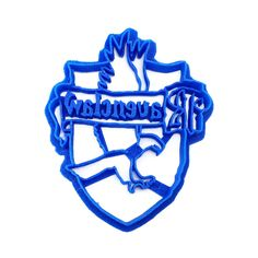 Ravenclaw House Crest from Harry Potter as a cookie cutter! Set with all four crests available in the shop as well! - Handmade - 3D Printed with ABS - Dishwasher safe Plastic cookie cutter ideal for c