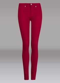 Carlings red/fuscia jeans
