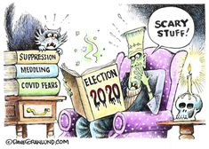 Chicago Tribune, Cartoon Memes, Satire, Scary, Christian, Christians, Macabre, Sarcasm
