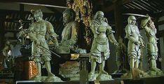 薬師如来と十二神将(新薬師寺) Bhaisajyaguru & Twelve Heavenly Generals [ Shin-Yakushi-ji ] 8th century
