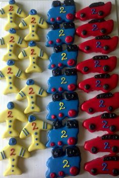 Planes, Trains and Automobiles Cookies