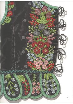 from book: Polish folk embroidery More #folkembroidery