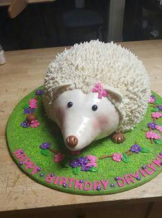 Cake,  hedgehog,  cute