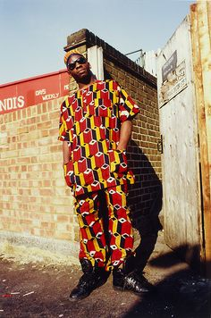 Normski, 'African Homeboy - Brixton, London, 1987'. Museum no. E.110-2012. © Normski/ Victoria and Albert Museum, London. Supported by the National Lottery through the Heritage Lottery Fund.