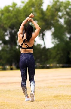 ddb5352dce cute & little blog | dallas fitness lifestyle blog | beyond yoga alloy  speckled bra,