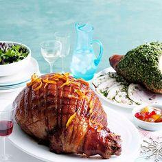 Glazed ham | Ham glaze recipes | Christmas ham recipes - Gourmet Traveller