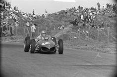 22 May 1961 Wolfgang von Trips won the Dutch Grand Prix with Ferrari Formula 1, Grand Prix, Gilles Villeneuve, Ferrari F1, Interesting History, Car And Driver, Road Racing, Race Cars, Netherlands