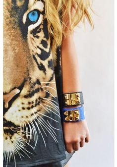 TOP & Bracelets: http://www.glamzelle.com/collections/whats-glam-new-arrivals/products/tiger-print-top-t-shirt