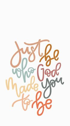 Inspirational And Motivational Quotes : Just be who God made you to be. Inspirational And Motivational Quotes : QUOTATION – Image : As the quote says – Description Just be who God made you to be. Motivacional Quotes, Bible Verses Quotes, Jesus Quotes, Faith Quotes, Famous Quotes, Cute Bible Verses, Work Quotes, Bible Scriptures, Success Quotes