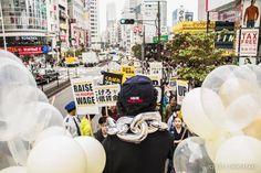 今日新宿で行われたAQUITAS @aequitas1500の初のデモの写真をアップしました。 フォトセット: 151017 AEQUITAS 上げろ最低賃金デモin新宿  shintayabe.tumblr.com/post/131344115… pic.twitter.com/KiFSc8jxoL