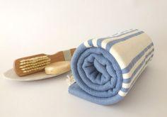 Turkish Towel Bath Natural Peshtemal Pure soft by TheAnatolian, $28.00