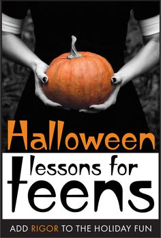 High-interest lessons to keep teens engaged during Halloween #highschoolEnglish #middleschoolEnglish #ELA