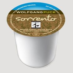 Wolfgang Puck Sorrento K-Cup: a rather crisp, yet smooth, yet still somehow robust coffee that holds its own. It's a silver dollar coffee confident in a sea of quarters. Coffee K Cups, Fair Trade Coffee, Waiting Rooms, Sorrento, Silver Dollar, Keurig, Confident, Crisp, All About Time
