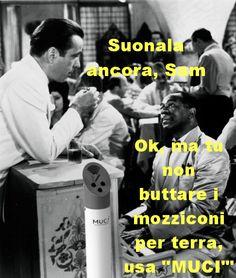 #Mucì l'acchiappa mozziconi anche a #Casablanca!