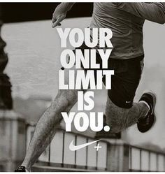 The only limitations we have are the ones we set for ourselves.