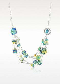 Antica+Murrina+Dubai+-+Multistrand+Murano+Glass+Necklace