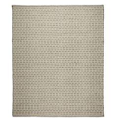 Basket Weave Textured Wool Rug - | Rejuvenation