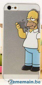 Coque pour IPhone 5-5S Homer Simpson neuve - A vendre