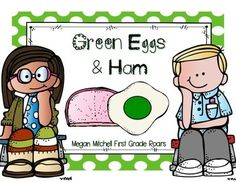 Enjoy a freebie to go with Green Eggs and Ham!