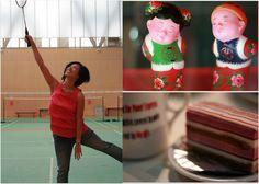 "may 22 - PINK!  pink top, ""tickled pink"", and pink cake!  taken at shenzhen stadium nanshan and holiday plaza #photoadayMay"